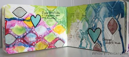 Ronda Palazzari change direction art journal2