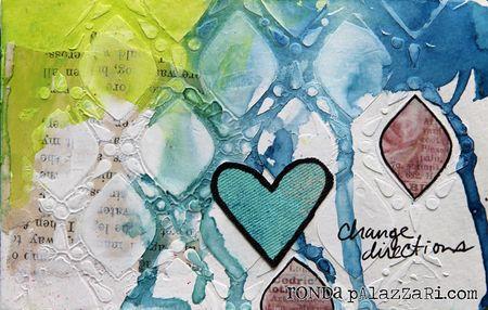 Ronda Palazzari change direction art journal pg 2