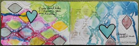 Ronda Palazzari change direction art journal