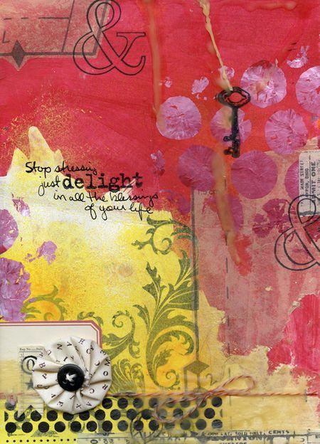Ronda palazzari art journal delight
