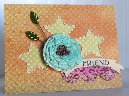 MR Ronda Friend Card