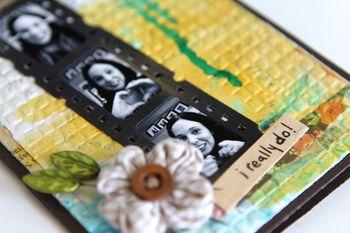 I love you card details