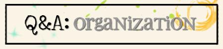 QA organize