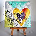 Heartstrings Mini Canvas
