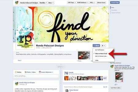 Ronda Palazzari Designs FB