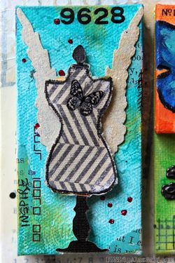 Ronda Palazzari Artful Multi Layer Canvas details 6