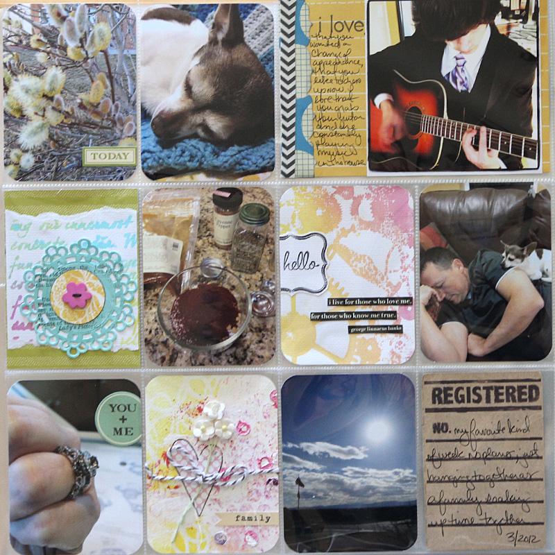 Ronda Palazzari Project life1