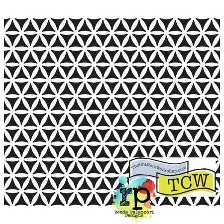 TCW347 Kaleidoscope stencil