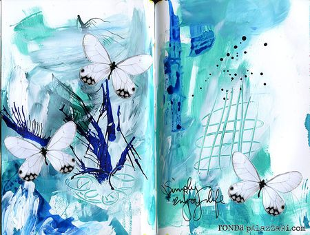 Ronda Palazzari Simply Enjoy Life Art Journal