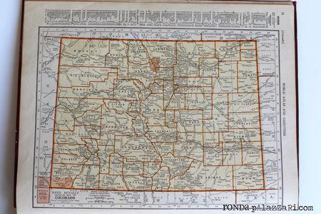 Ronda Palazzari Vintage Atlas map