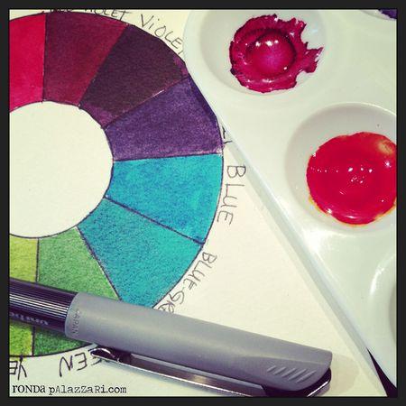 Ronda Palazzari Color Theory Class
