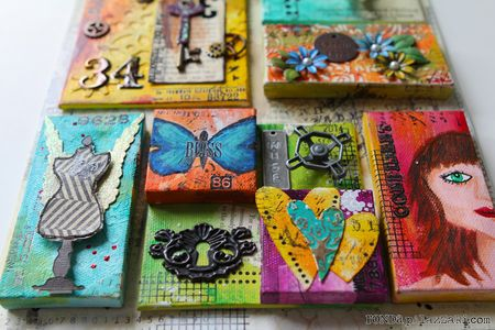 Help me ronda artful multi layers canvas for Things to do with mini canvases