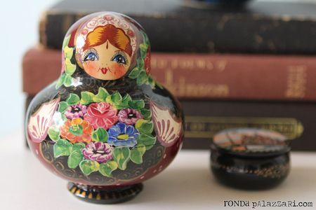 Ronda Palazzari matryoshka doll