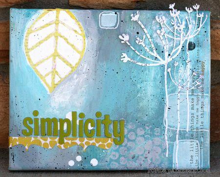 Ronda Palazzari Simplicity Canvas