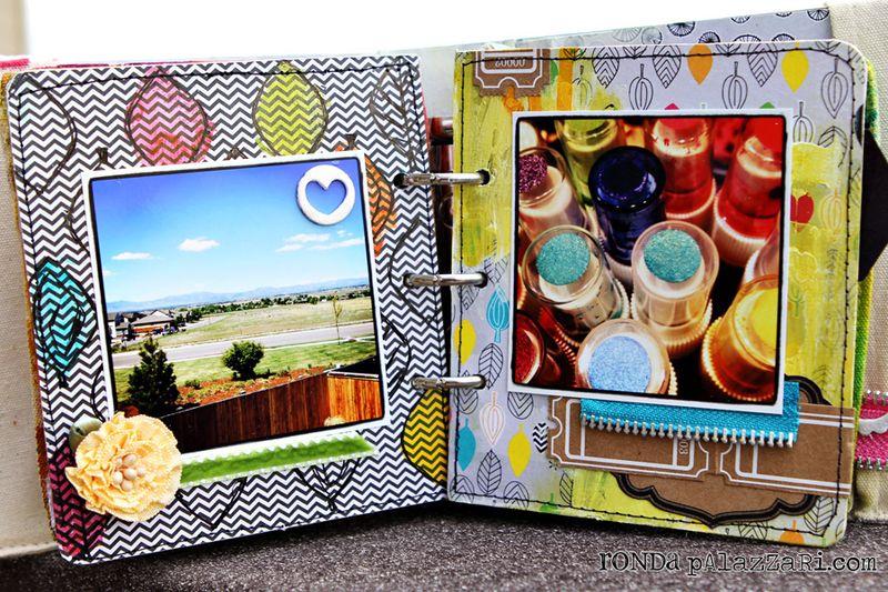 Ronda Palazzari The Colors of my life pg 5&6