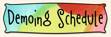 Demoing Schedule