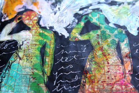 Ronda Palazzari Just Be You Art Journal Details