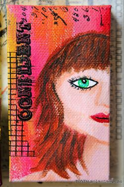 Ronda Palazzari Artful Multi Layer Canvas details 10