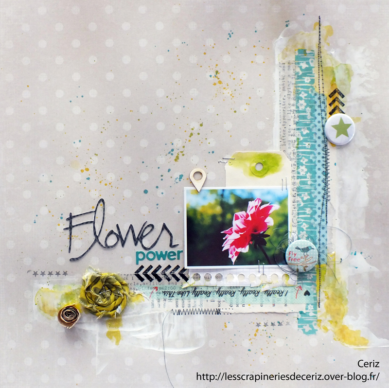 Melle Ceriz flower power