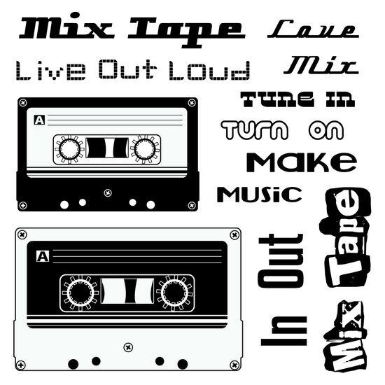 Maya Road Mix Tape Stamps