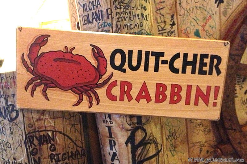 Ronda palazzari The Boling Crab Crabbin