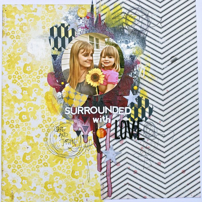 Denise Morrison OLW surround with love