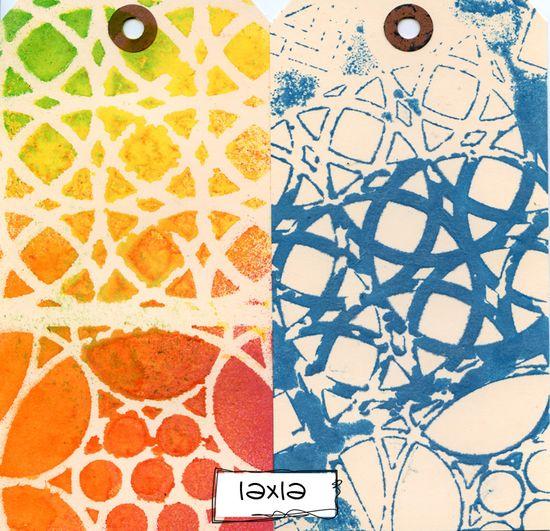 Ronda Palazzari Moroccan Tiles 12x12 stencil