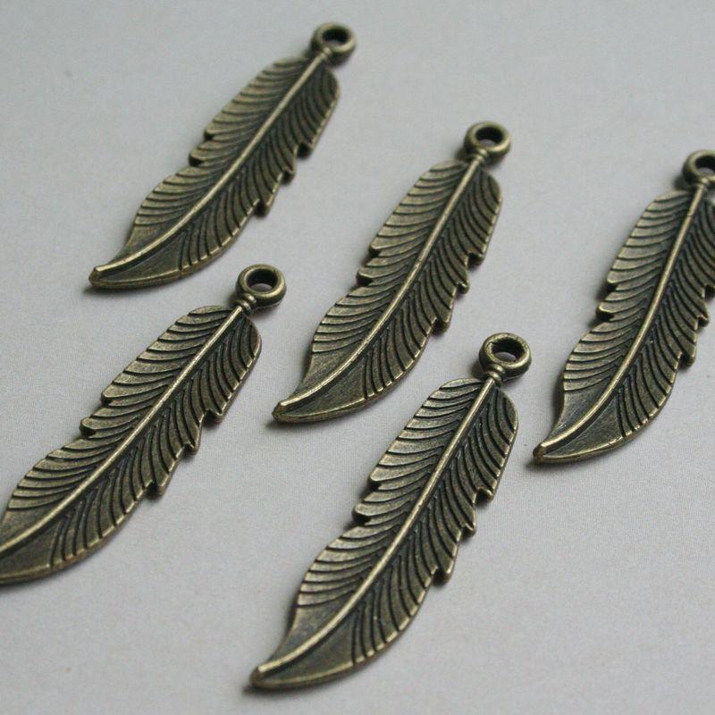 Maya Road Antique Mini  Feathers