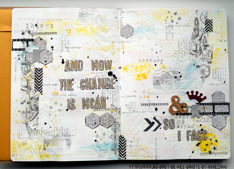 Nine And Now Art Journal