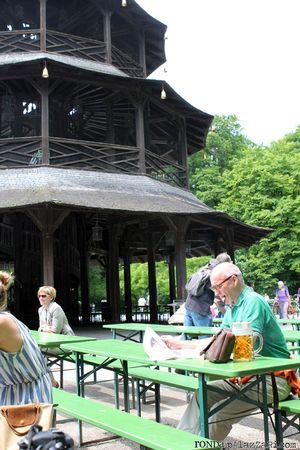Ronda Palazzari Munich English Gardens people