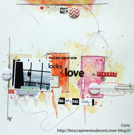 Melle Ceriz locks of love