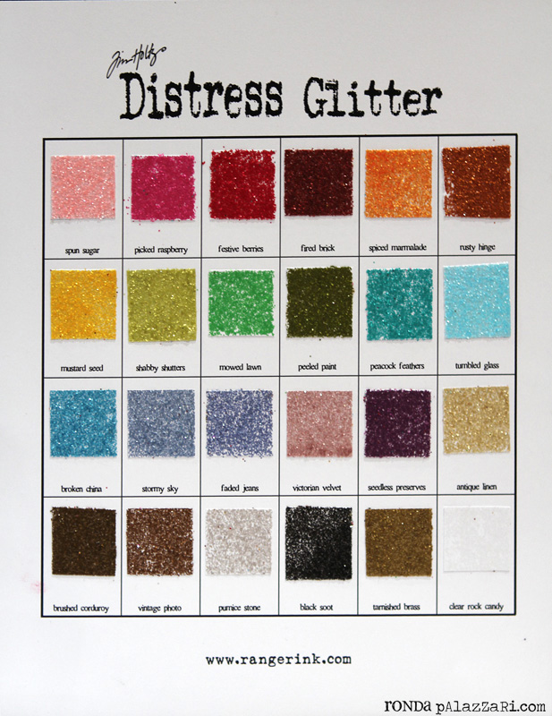 Ranger Distress Glitter