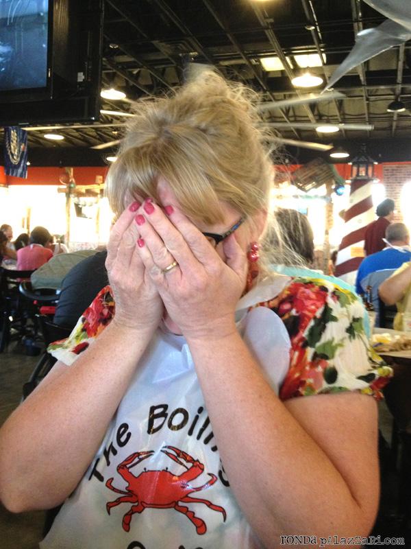 Ronda palazzari The Boling Crab Emily