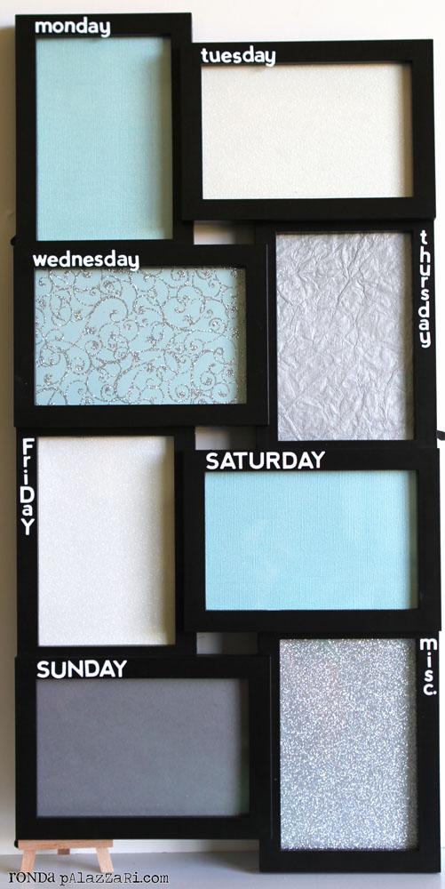 Help [ME] Ronda: Pinspired: Elegant Weekly Dry Erase Board