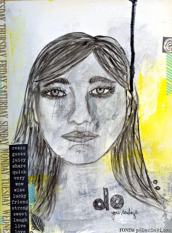 Ronda Palazzari Do Art Journal