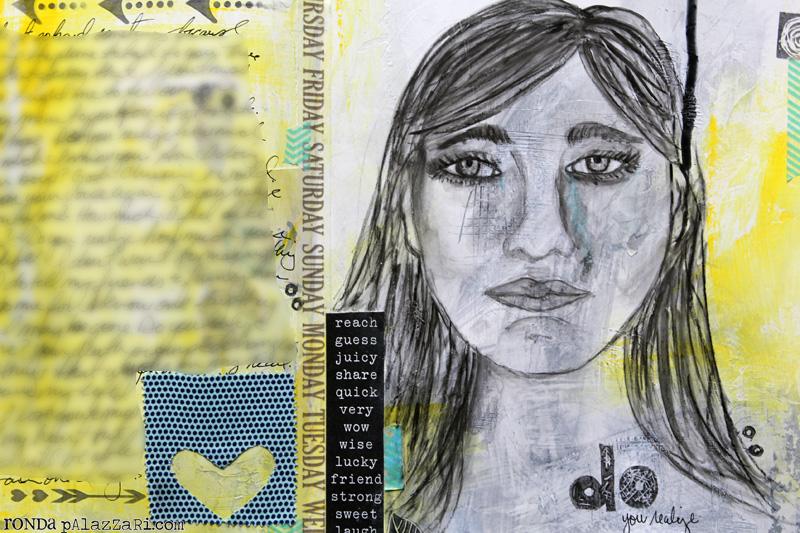 Ronda Palazzari Do Art Journal details