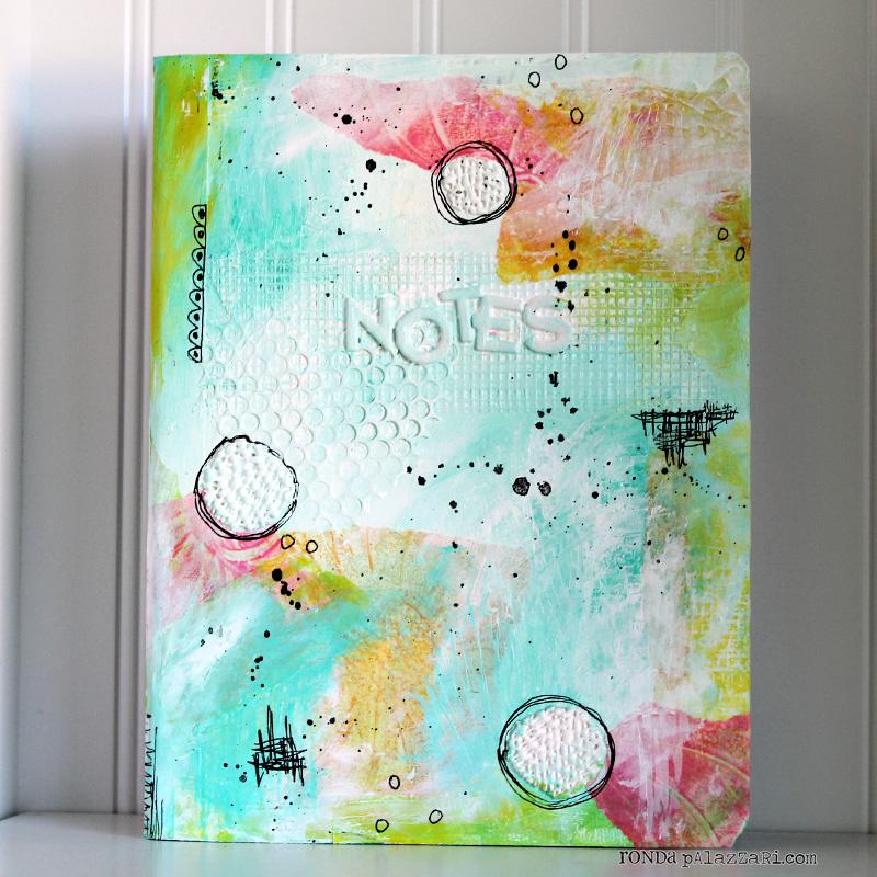 Ronda Palazzari Altered Notebook