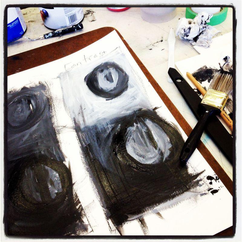 Ronda Palazzari Abstract Class