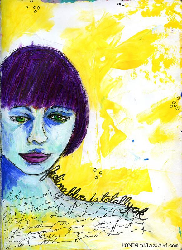 Ronda Palazzari Feeling Blue