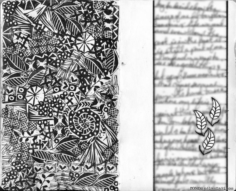 Ronda Palazzari Pieces of Me 2 Pages