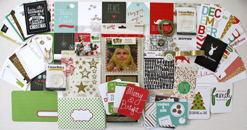 Cocoa Daisy Christmas DITL kit