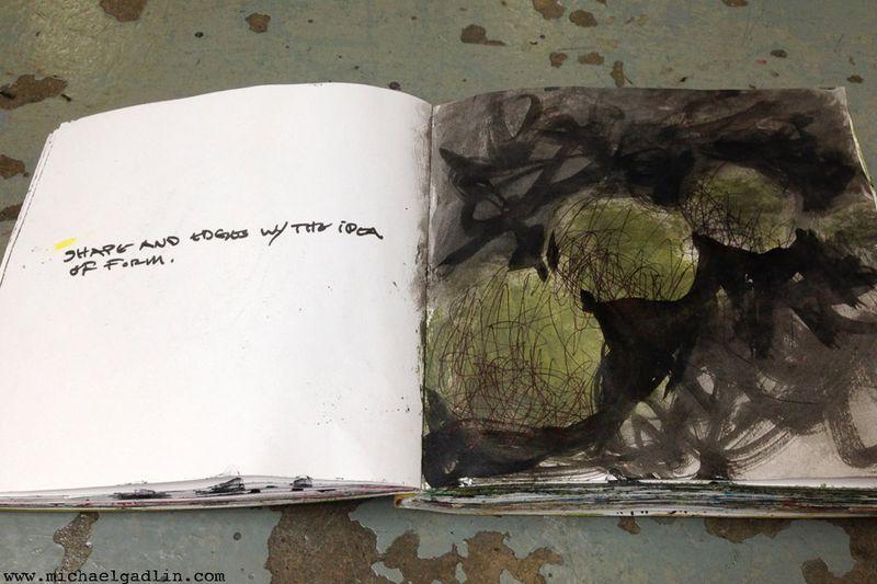 Michael Gadlin Art Journal 11