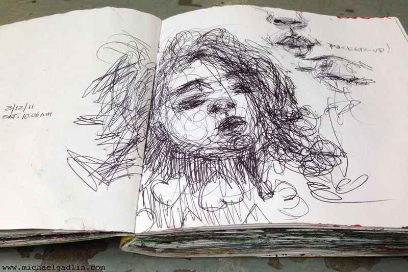 Michael Gadlin Art Journal 6