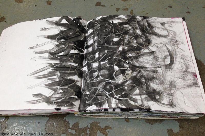 Michael Gadlin Art Journal 9