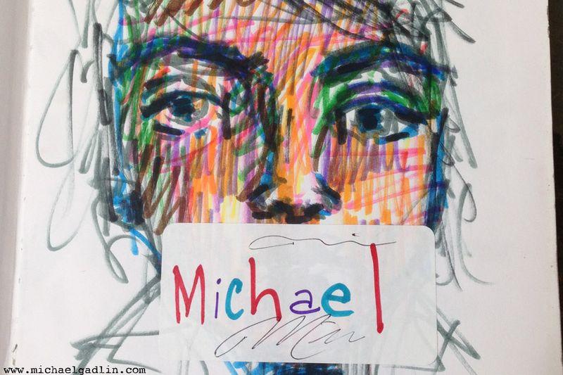Michael Gadlin Art Journal 4