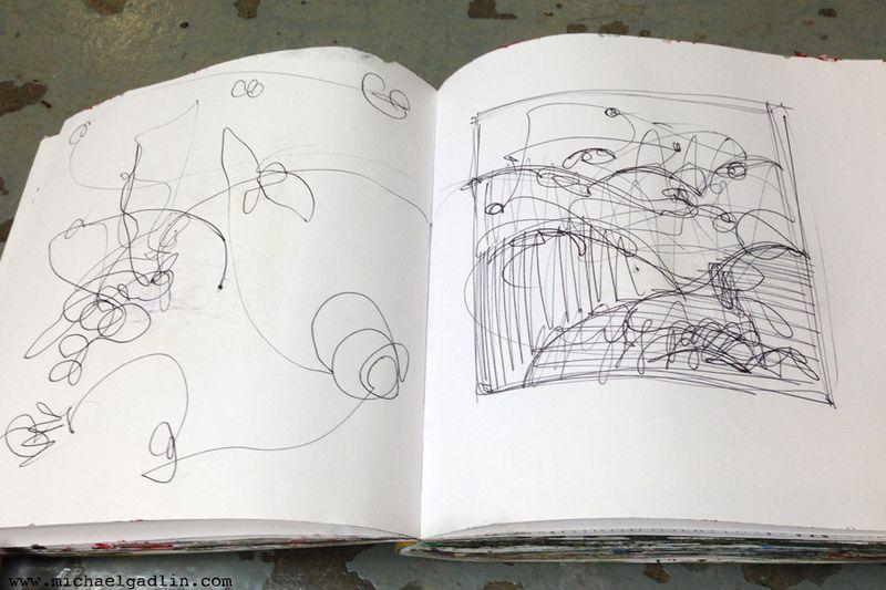 Michael Gadlin Art Journal 8