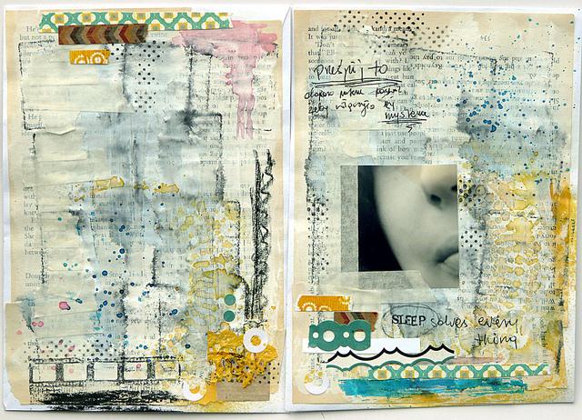 Magda Bolinksa Art Journal 8