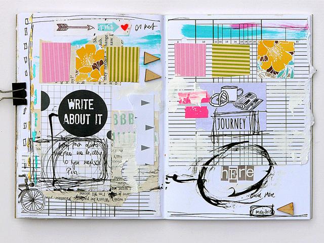 Magda Bolinksa Art Journal 5
