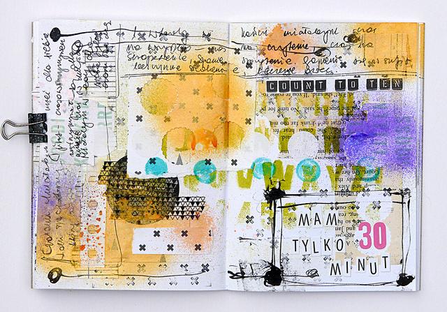 Magda Bolinksa Art Journal 6
