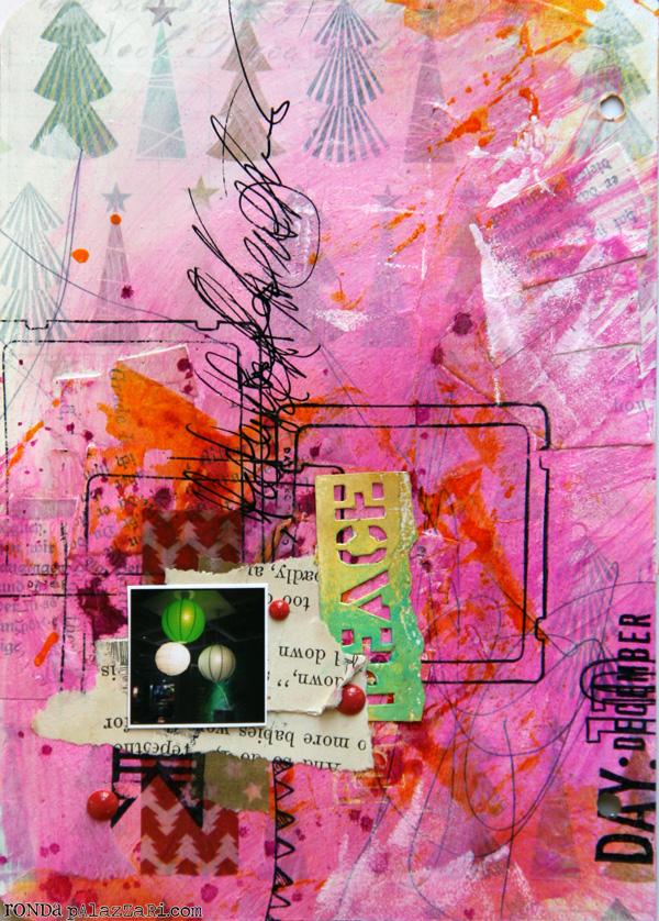 Ronda Palazzari Document Dec Art Journal Day 10